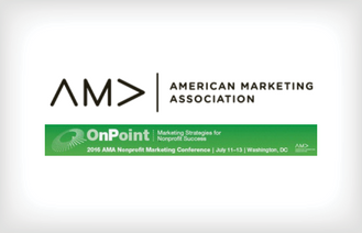 American Marketing Association Nonprofit Marketing Conference