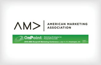 American Marketing Association Nonprofit Marketing Conference